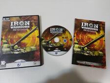 IRON WARRIORS T72 TANK COMMAND JUEGO PARA PC DVD-ROM ESPAÑA BLACK BEAN