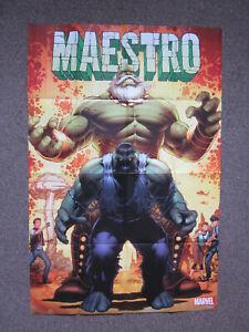 "Marvel Comics Maestro Incredible Hulk Future Imperfect Superhero Poster 36x24"""
