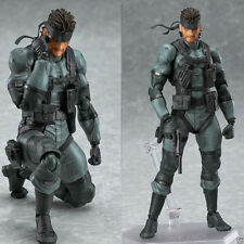 Max Factory Figma No.243 Snake Metal Gear Solid 2 Sons of liberty Figure KidsToy
