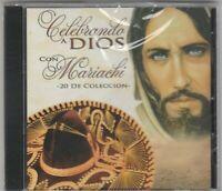 "*Celebrando A Dios"" /Con Mariachi (20 Songs) *Religious Tejano Tex-Mex CD NEW"