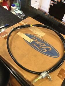 Nos 1966 Lincoln Cruise Lower Speedometer Cable C6VY -9A820-b