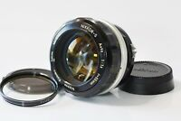 [Excellent+++++] Nikon Nikkor-S Auto 55mm F1.2 MF Prime Non-Ai from Japan N282