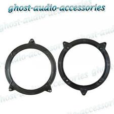"BMW 3 Series E46 130mm 5.25"" Speaker Collar Adaptor Rings for Rear Door BM-100"