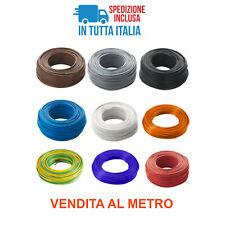 Cavo cordina filo elettrico unipolare FS17 1-1,5-2,5-4-6 VENDITA A MISURA METRO