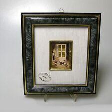 Hochwertiges Gilde Goldbild Folienbild Miniatur Bild im Rahmen 20 x 18 cm (2)