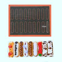 Silicone Mat Non-Stick Puff Perforated Liner Pad Cookie Bread Mold Oven Sheets K