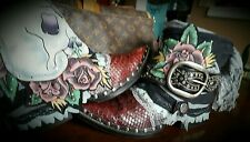 Upcycled Cowboy Boots gypsy junk Cutomized OOAK for you. U Pick the Style boho