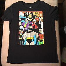 DC Comics Batman The Animated Series XL Tee T-Shirt Joker Ivy Robin Batgirl