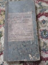Vintage Lehigh Valley PA Railroad Freight Contractor's Car Record Book