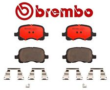 For Toyota Corolla Chevy Prizm 1.8 L4 Front Brake Pad Set Ceramic & Clips Brembo