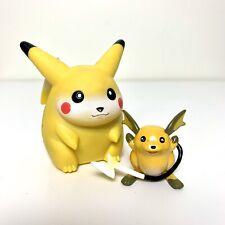 "POKEMON Pikachu Electronic Talking Figure & 2"" Raichu Model - Vintage Tomy 1997"