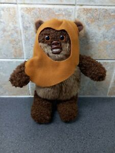 "Kenner Star Wars Buddies 1997 Lucas Film Ltd EWOK Small 8"" Plush Stuffed Toy"