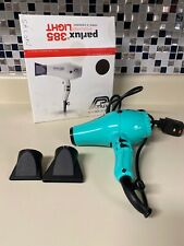 Parlux 385 PowerLight Ionic and Ceramic Hair Dryer Tiffany Blue USA Srock