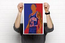 Detroit Pistons Bad Boys Thomas Laimbeer Billups Hamilton Prints Bobblehead Art
