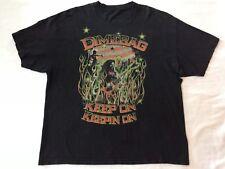 Dimebag Darrell Shirt Keep On Keepin On Distressed Shirt Mens 2XL Pantera
