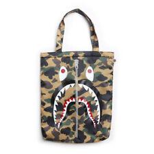A Bathing Ape Bape Camo Shark Cushion Tote Bag Not including Magazine