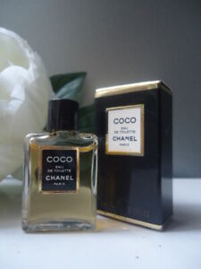 Gift Wrapped CHANEL COCO 4ml EDT Rare Tiny Vintage 1980s Miniature New Mint Box