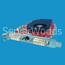 ATI Radeon X1600XT PCIe Dual DVI 256MB Graphics Card  419543-001 419206-001