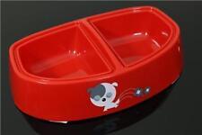 Artículos de plástico de color principal rojo para perros
