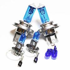 Fiat Seicento 187 55w ICE Blue Xenon HID High/Low/Fog/Side Headlight Bulbs Set