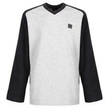 Maglione grigio con scollo a v per bambini dai 2 ai 16 anni