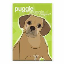 Pop Doggie Puggle Snuggle Anyone Puggle Fridge Magnet