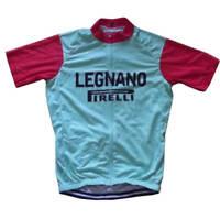Team Legnano Pirelli Retro Cycling Jersey