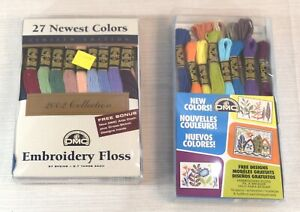 39 Skein Lot : DMC 2002 Collector Newest Colors Embroidery Floss Thread