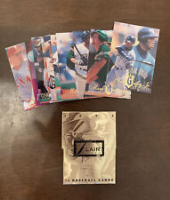 1994 Flair Series 1 Opened 10 Baseball Card Gold Box W/ Griffey Jr. & McGuire 🔥