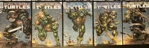 TMNT 108, 109, 110, 111 And 112 Evolve Comics Freddie Williams Color Connecting