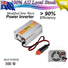 150W 300W DC 12V to 220V AC Power Inverter Can With USB Port Car  AU New