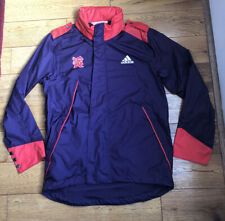 Mens Small / Medium Adidas London 2012 Olympics Rain Coat Jacket Kagool Run Gym