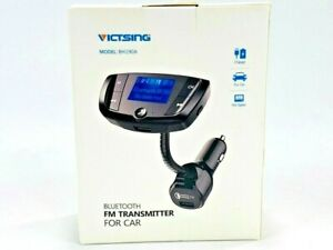Victsing Bluetooth Fm Transmitter For Car Model: BH190A New In Box