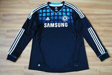 SIZE XL CHELSEA LONDON 2011/2012 AWAY FOOTBALL SHIRT SOCCER JERSEY LONGSLEEVE