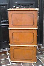 Shabby sofá Table-antigua talla. ultramar maleta vintage decorativas Oldtimer maleta ~ 1900