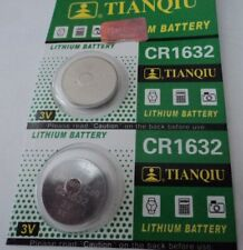 NEW 2 X CR1632 3 VOLT LITHIUM COIN BATTERY.AUSSIE STOCK FAST FREE POST!EXP2022