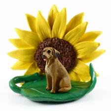Rhodesian Ridgeback Sunflower Figurine
