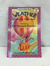 Weather, Poems for All seasons by Lee Bennett Hopkins (1995, Paperback)