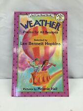 Weather, Poems for All seasons by Lee Bennett Hopkins (1995, PB), For Children