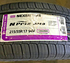 4 New 215 55 17 Nexen N'Priz AH8 Tires