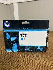 New Hp Designjet 727 Cyan Blue Ink Toner Cartridge