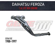 GENIE Headers / Extractors Daihatsu Feroza 4WD 1.6L EFI HDE Engine (1988-1997)
