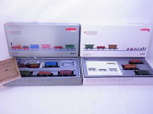 83340 Märklin H0 26471+ 43471 Espagnol Brötli Train Suisse Complet IN Ovp