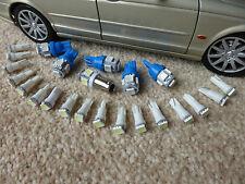 Jaguar XJS Complete Dash Instrument LED Bulb Set Upgrade Blue