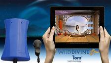 Wild Divine die IOM Blau Portable Wireless Biofeedback-System Interaktiv Spieler