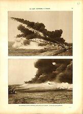 WWI Bataille de Verdun Lance-flammes Flamethrower Flammenwerfer A ILLUSTRATION