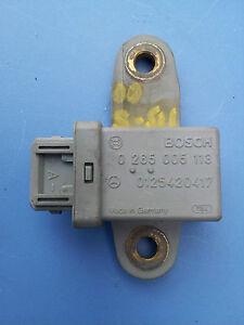 MERCEDES-BENZ W220 S430 S500  ACCELERATOR TURN RATE SENSOR CONTROL UNIT MODULE