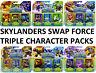 Skylanders Swap Force Triple Figurine Personnage Paquets - Tout Neuf Emballé