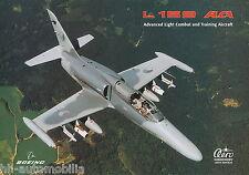 Flugzeug-Prospekt Aero Vodochody L 159 2001 combat training aircraft brochure
