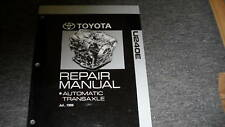 2000 Toyota Celica U240E Auto Transaxle Repair Manual